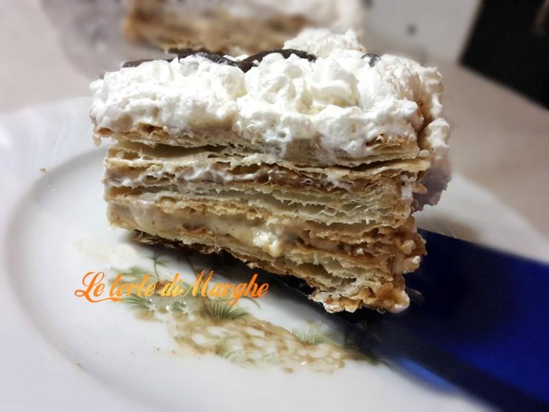 Ricette dolci con pasta sfoglia con crema