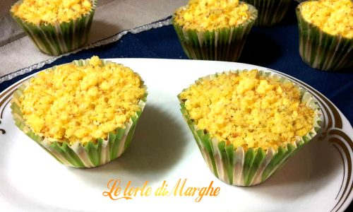 Cupcake mimosa ricetta facile