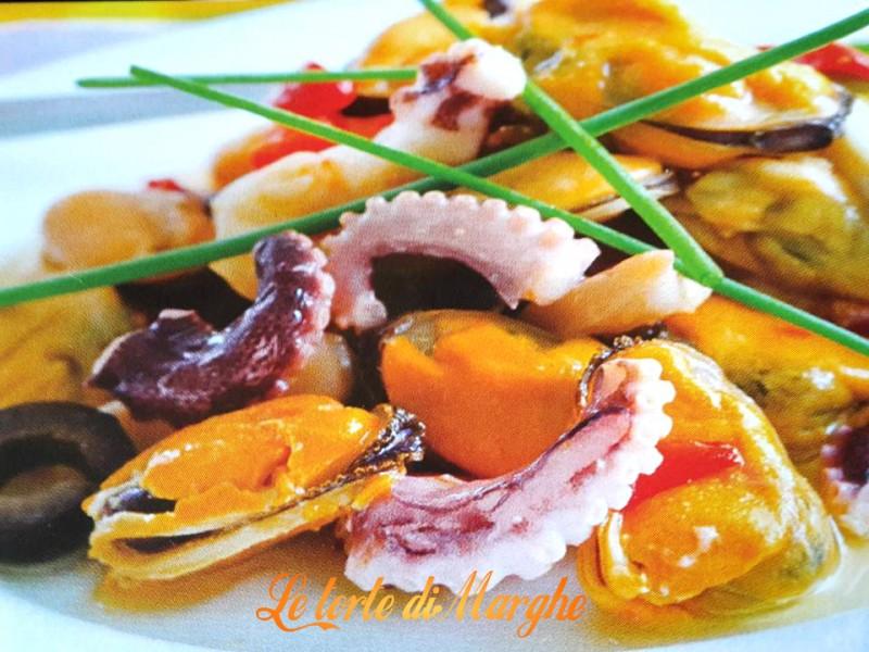 insalata di mare al vinaigrette
