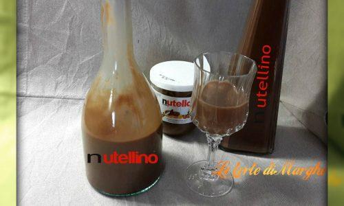 Liquore crema alla nutella e vaniglia