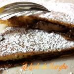 Pancake con ripieno di nutella