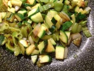 Coda di rospo al forno su letto di verdure