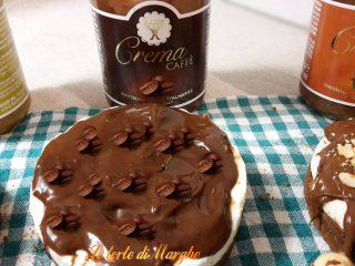 mini cheesecake con creme spalmabili babbi