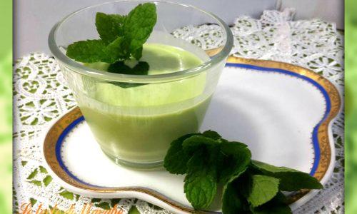 Crema liquore alla menta ricetta