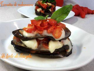 Melanzane arrostite alla parmigiana
