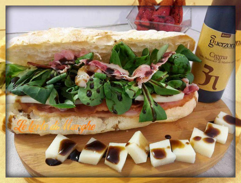 panino con bacon croccante