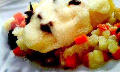 Cestini di patate e uova tartufati