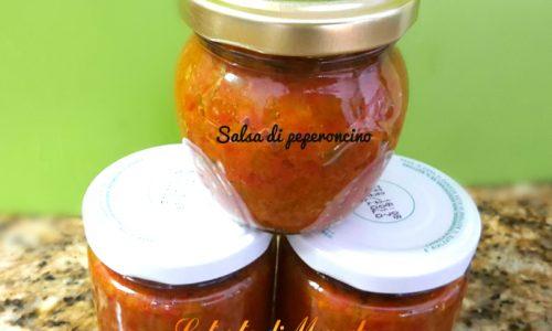 Salsa piccante di peperoncini  -ricetta veloce-