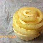 rose di pasta sfoglia con le mele