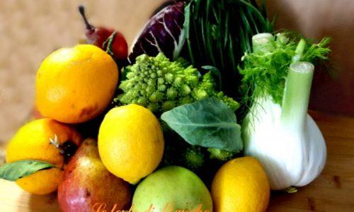 Frutta e verdura di stagione – i benefici –