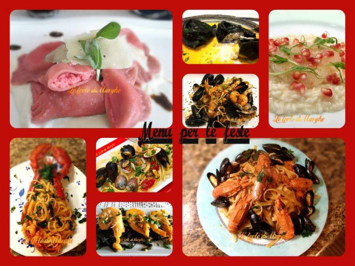 Raccolta piatti a base di pesce