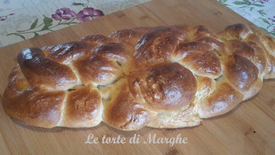 treccia pan brioche a sei capi