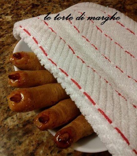biscotti halloween panpepato dita di strega