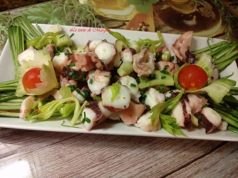 Polpo in insalata ottimo antipasto
