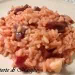 risotto rosso con barbabietola