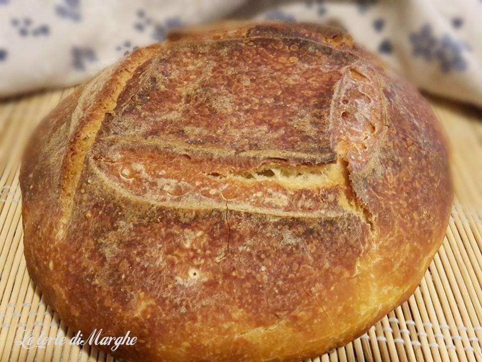 Pane di grano duro fatto in casa