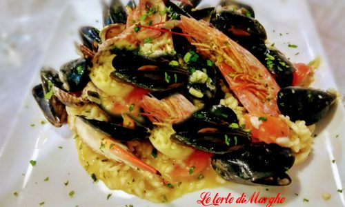 Risotto ai frutti di mare ricetta facile