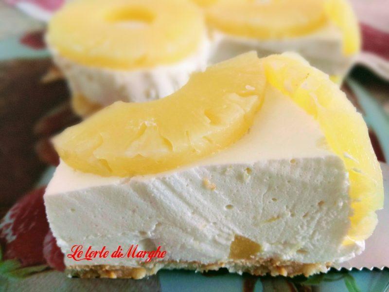 Torta allo yogurt e ananas