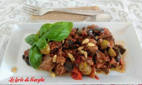Caponata di melanzane alla siciliana