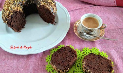 Ciambella al cioccolato senza uova e burro