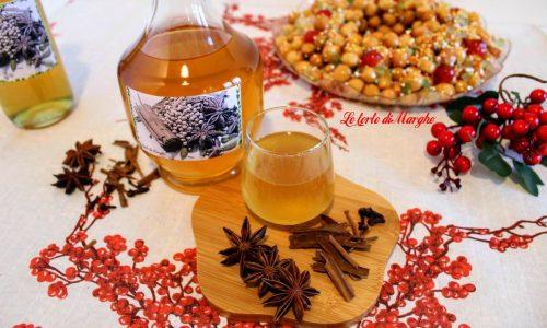 Liquore digestivo speziato alla cannella