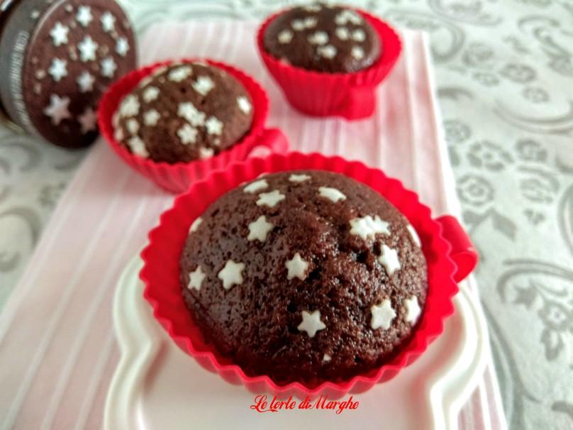 Cupcake pan di stelle dolcetti morbidi