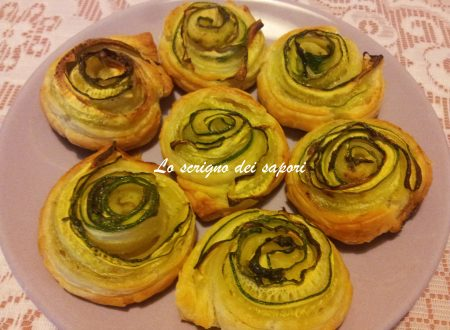 Roselline di zucchine