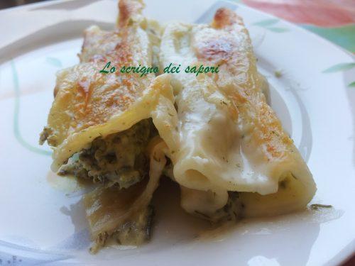 Cannelloni di magro…. senza uova e senza grassi!