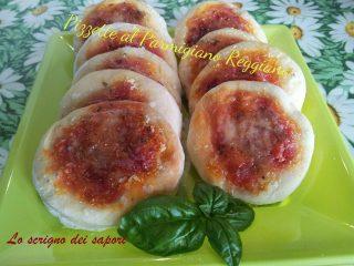Pizzette al Parmigiano