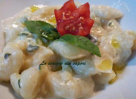 Gnocchi, zucchina e philadelphia