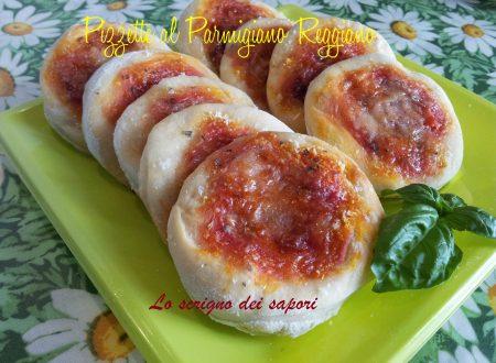Pizzette al Parmigiano Reggiano