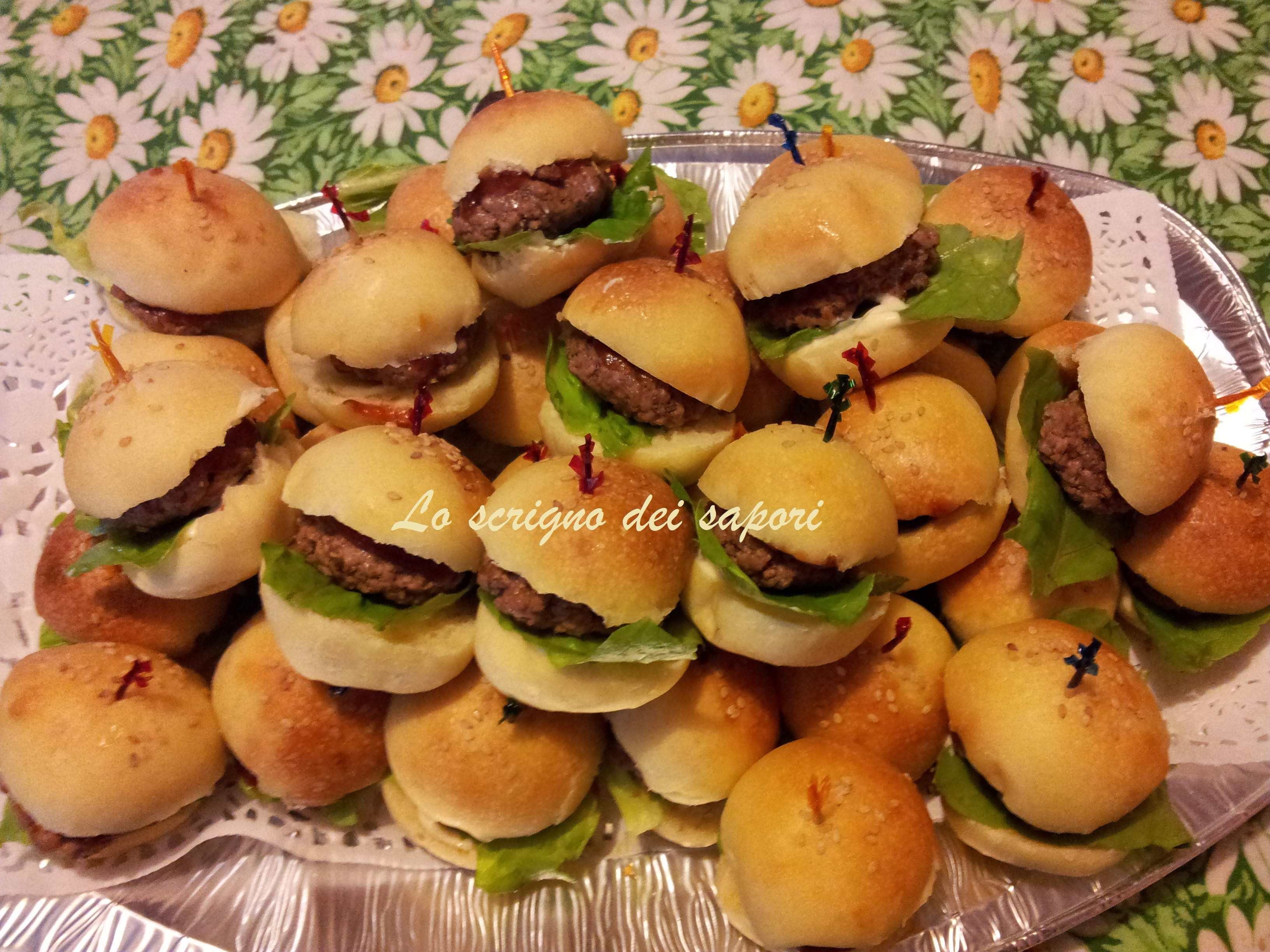Molto Mini Hamburger | Lo scrigno dei sapori ND93