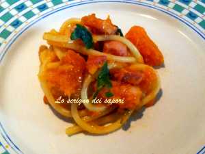 spaghetti  zucca finale