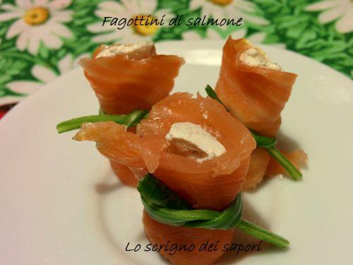 Fagottini al salmone