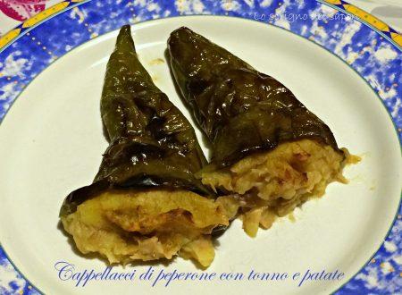 Cappellacci di peperone con tonno e patate