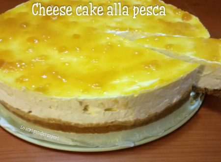 Cheese Cake alla pesca