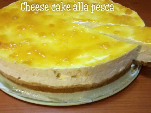 Cheese Cake alla pesca