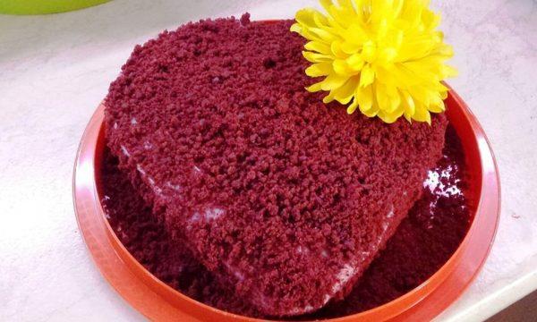 Molly cake rossa