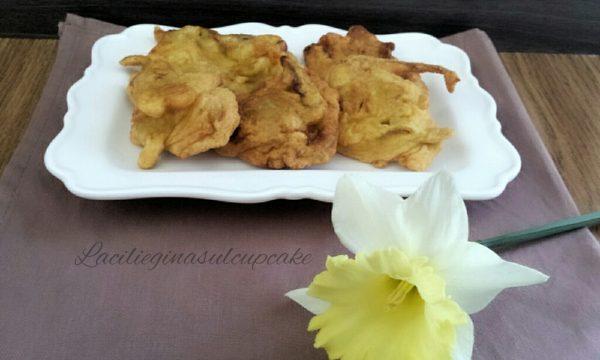 Frittelle ai fiori di zucca