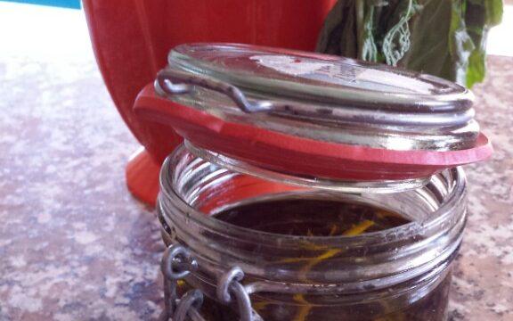 Basilico in olio
