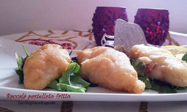 Baccalà pastellato e fritto