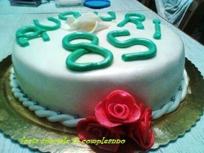 Torta speciale di compleanno