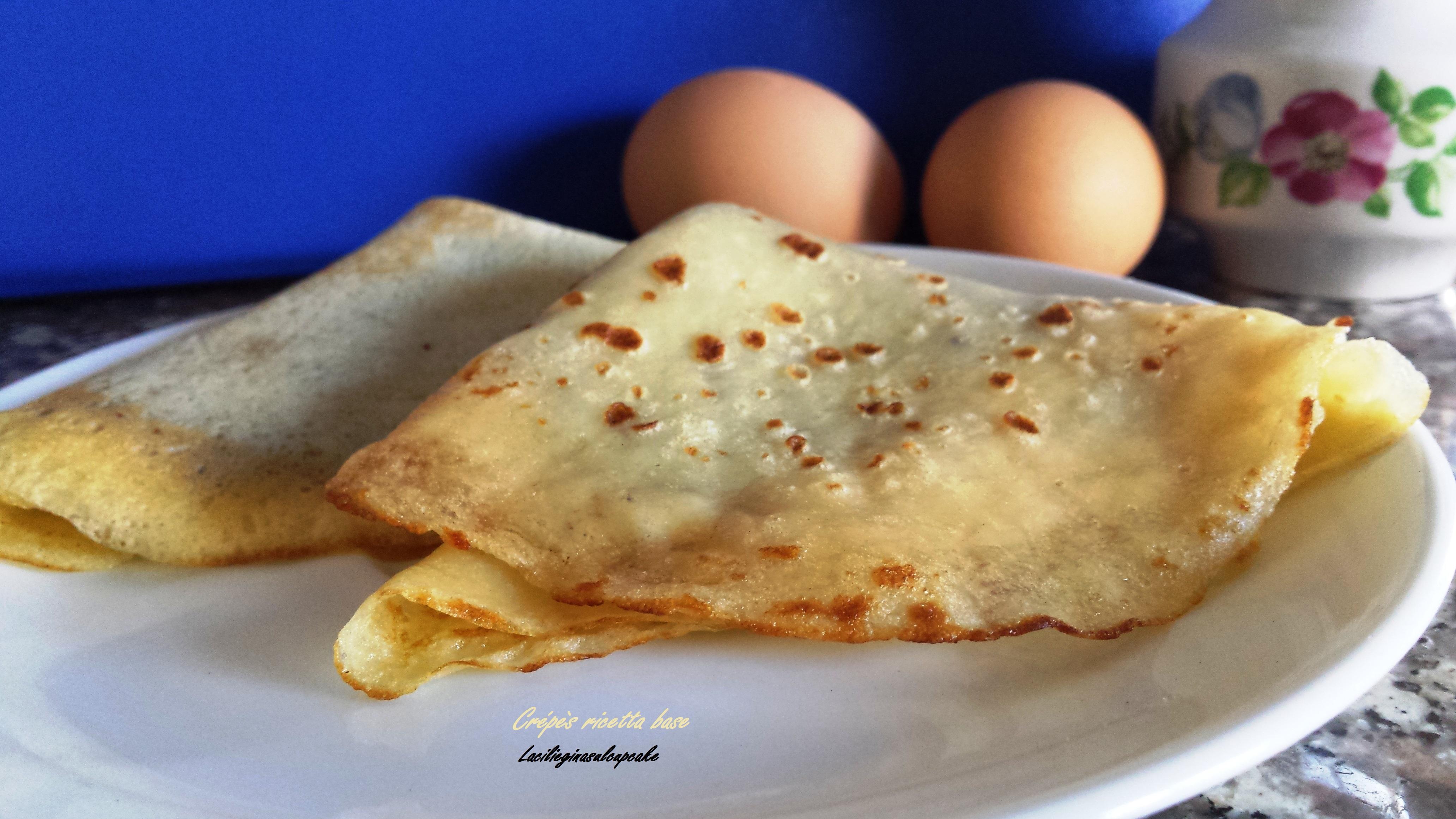 crépès ricetta base