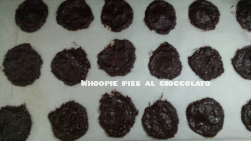 Whoopie pies al cioccolato