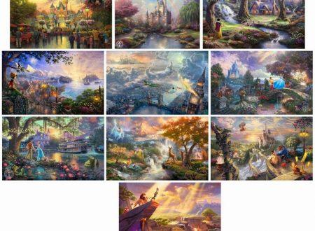 """""""Disney Dreams Collection"""" di Thomas Kinkade"""