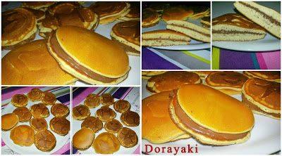 Dorayaki i dolci di Doraemon (pancakes giapponesi)