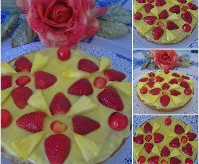Crostata con crema alla frutta