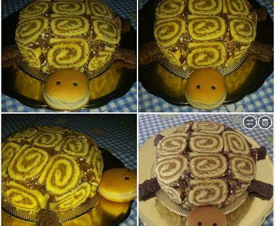 Torta Tartaruga semifreddo o zuccotto con girelle oppure roll