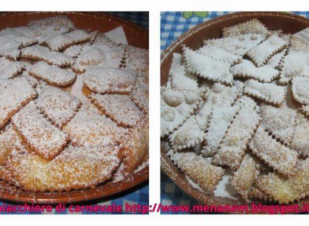 Le Chiacchiere dolce tipico di carnevale
