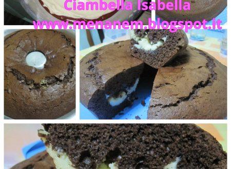 Ciambella Isabella … con bimby e non …